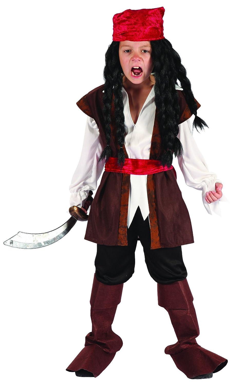 Disfraz de pirata niño - 7 - 9 años: Amazon.es: Juguetes y juegos