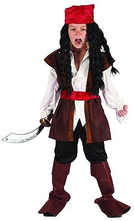 Disfraz de pirata niño - 4 - 6 años