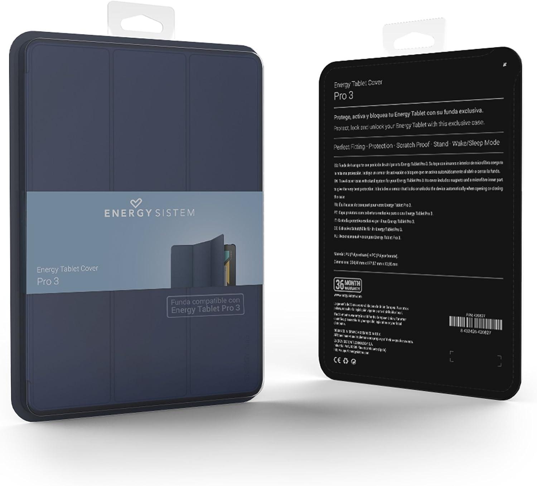 Energy Sistem - Funda para Tablet Energy Pro 3, Color Navy: Amazon.es: Electrónica