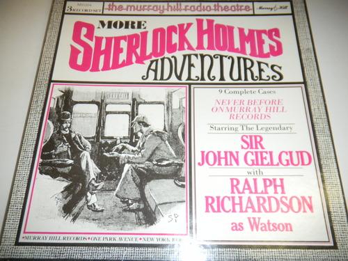 Sir john Gielgud - Sherlock Holmes - Sir John Gielgud