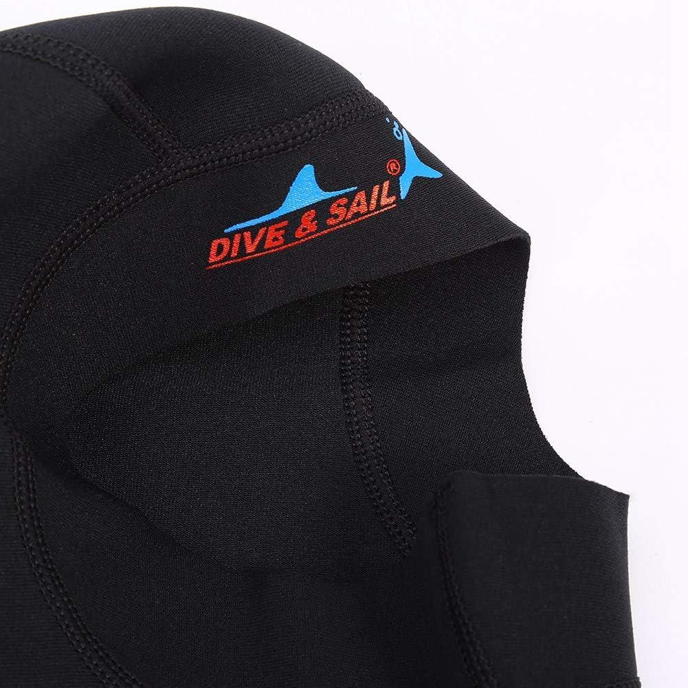 Wbestexercises Diving Cap Neoprene Scuba Snorkeling Wetsuit Hood Surf Divers Hat Swim Caps Waterproof Diving Hat for Women Men Adult Kids