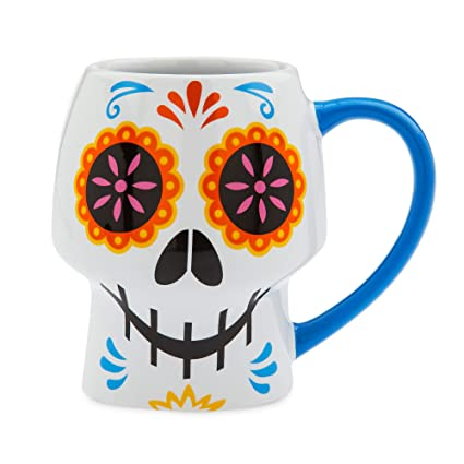 Mug No Color Coco Disney Skull kXPiZu