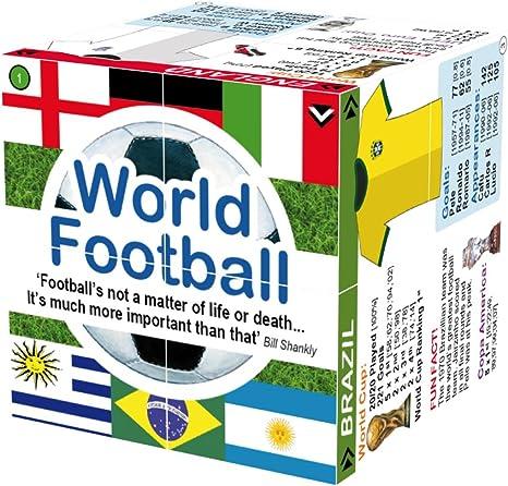 World Football Stats Cube Book