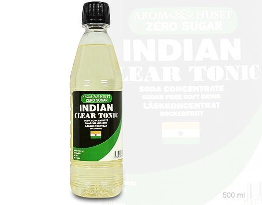 Zero Indian Clear Tonic  Limonadenkonzentrat  Zuckerfrei - 500 ML ...