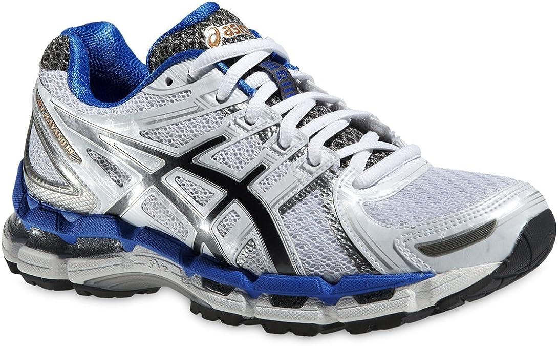 Zapatillas running asics Kayano 19 blanco para mujer Talla 42,5 2013: Amazon.es: Zapatos y complementos