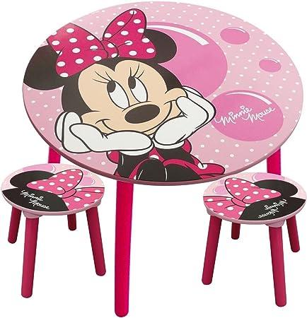 Jemini Ensemble Table Et Chaises Minnie Mouse Disney Bulle Amazon