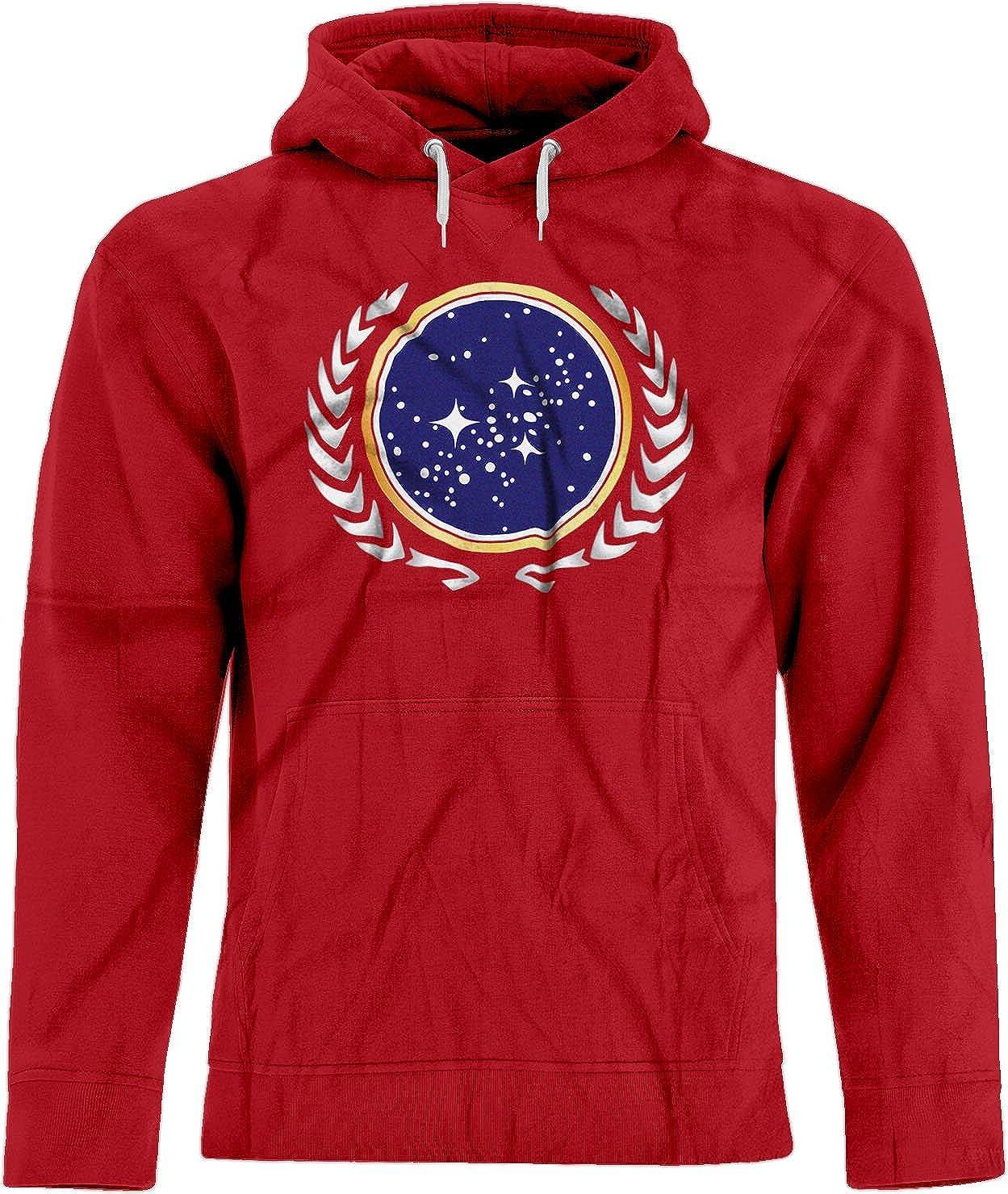 BSW Unisex Star Trek United Federation of Planets Logo Premium Hoodie 5372-1HP