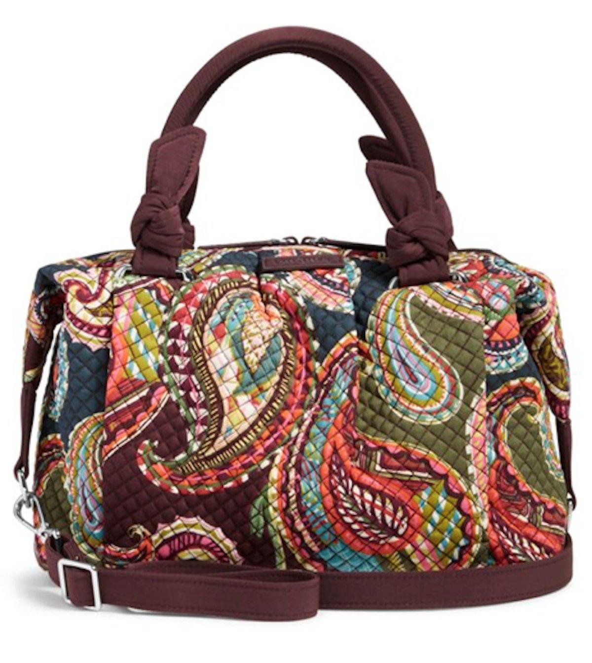 Vera Bradley Hadley Satchel Handbag (Heirloom paisley)