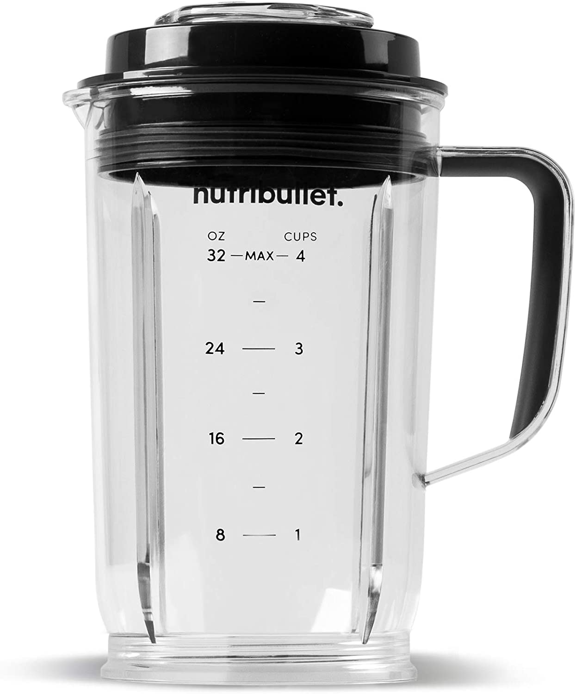 Clear//Black NutriBullet Select 32 oz Pitcher