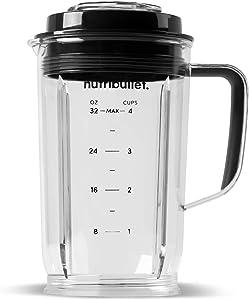 NutriBullet Select 32 oz Pitcher, Clear/Black