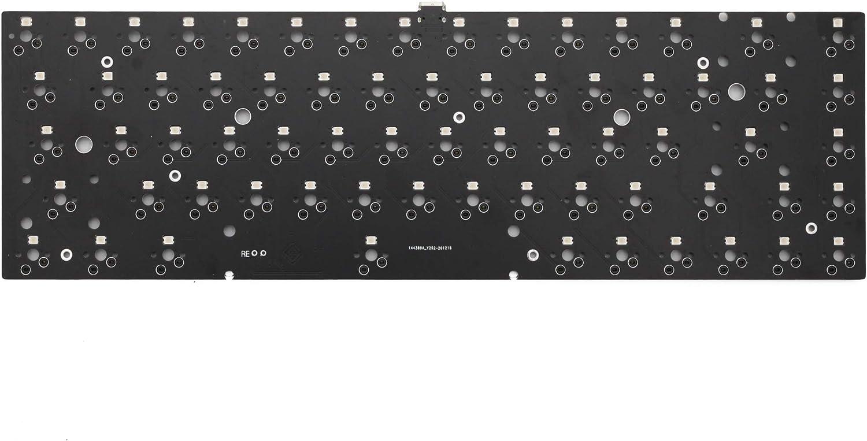 bm68 RGB 65% gh60 hot swappable Custom Mechanical Keyboard PCB