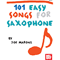 101 Easy Songs for Saxophone book cover