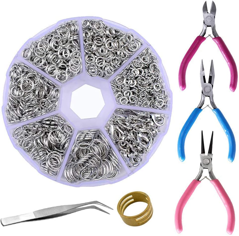 Supla Jewelry Making Findings Beading Suppliers Open Jump Rings 4Mm 5Mm 6Mm 7Mm