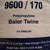 Tytan International Bale Twine (2 Pack), Orange