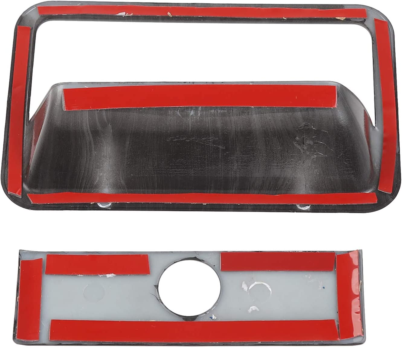 Red Co-pilot Storage Box Handle Cover Trim For Ford F150 F-150 2015 2016-2018