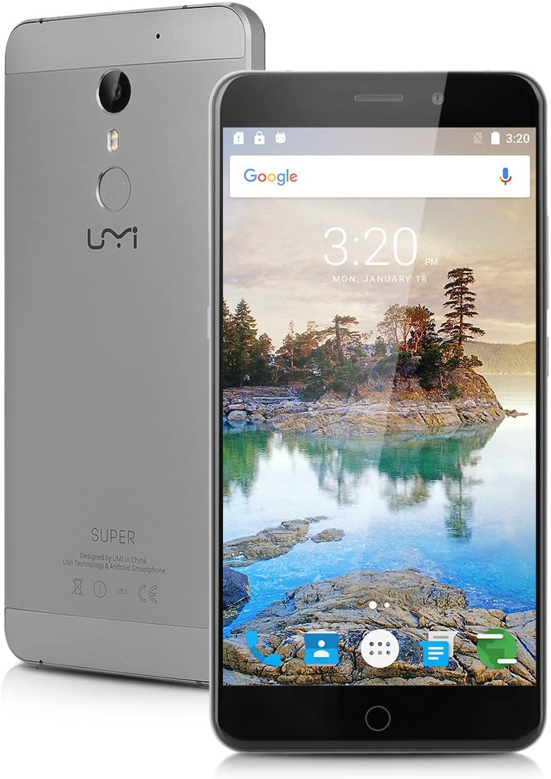 Umi Super - Smartphone Móvil Libre 4G Android 6.0 (2.0GHz, 5.5 ...