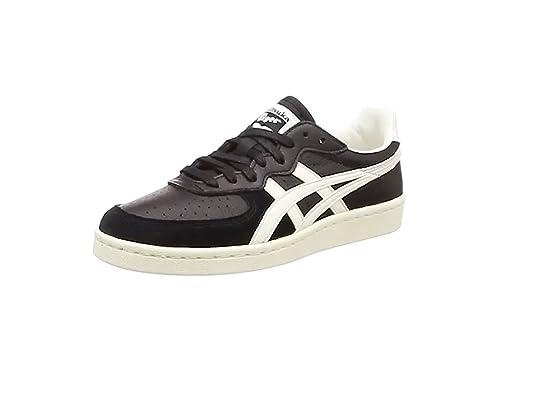Onitsuka Tiger Gsm - Zapatos deportivas, unisex, Negro (Black/White),