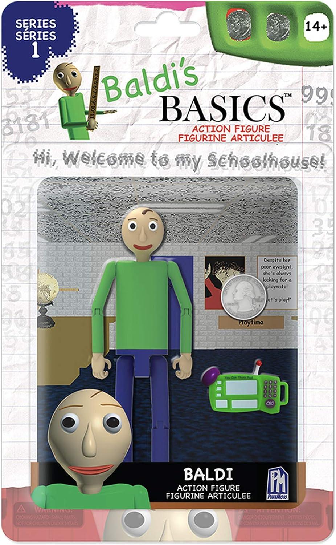 "Baldis Basics 5/"" Action Figure Baldi Multicolour"