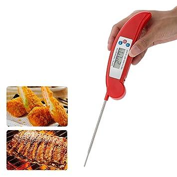 cool-shop mejor Digital Alimentos Termómetro de carne - lectura instantánea tecnología - perfecto para alimentos, líquido, cocina, cocinar barbacoa - rápido ...