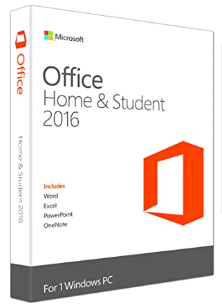 caed01704 Microsoft Office Home and Student 2016 - Licence Key (PC)  Amazon.co ...