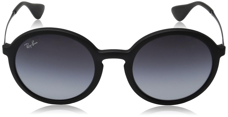 Ray-Ban Unisex Sonnenbrille RB4222, Mehrfarbig (Gestell: Braun, Gläser: Braunverlauf Dunklbraun 622413), Medium (Herstellergröße: 50)