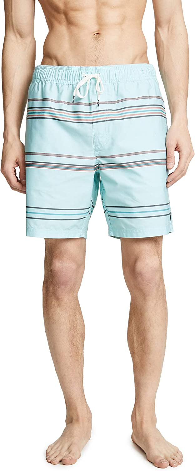 RVCA Men's Shattered Elastic Trunk