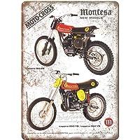 Montesa Moto Cross Cappra Póster de Pared Metal