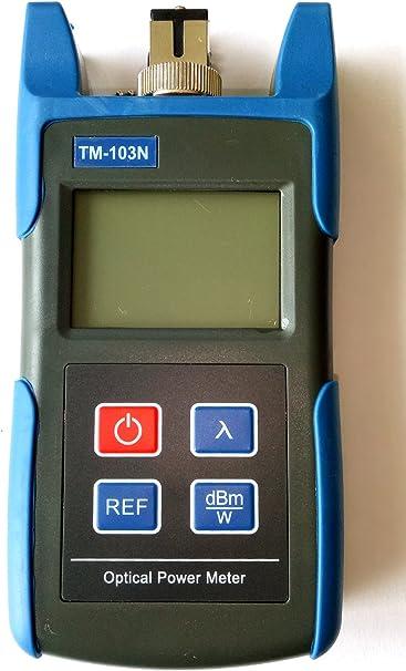 Rivelatore ottico del tester del misuratore di potenza ottica della fibra