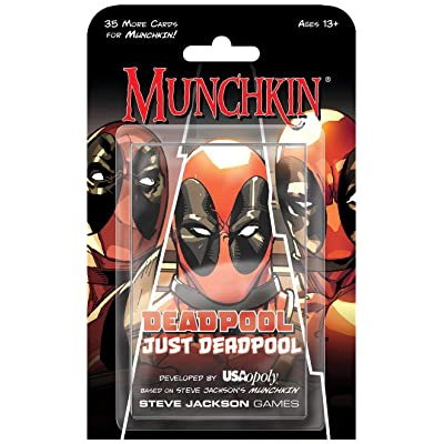 USAOPOLY Deadpool Munchkin Card Game: Cards: Toys & Games