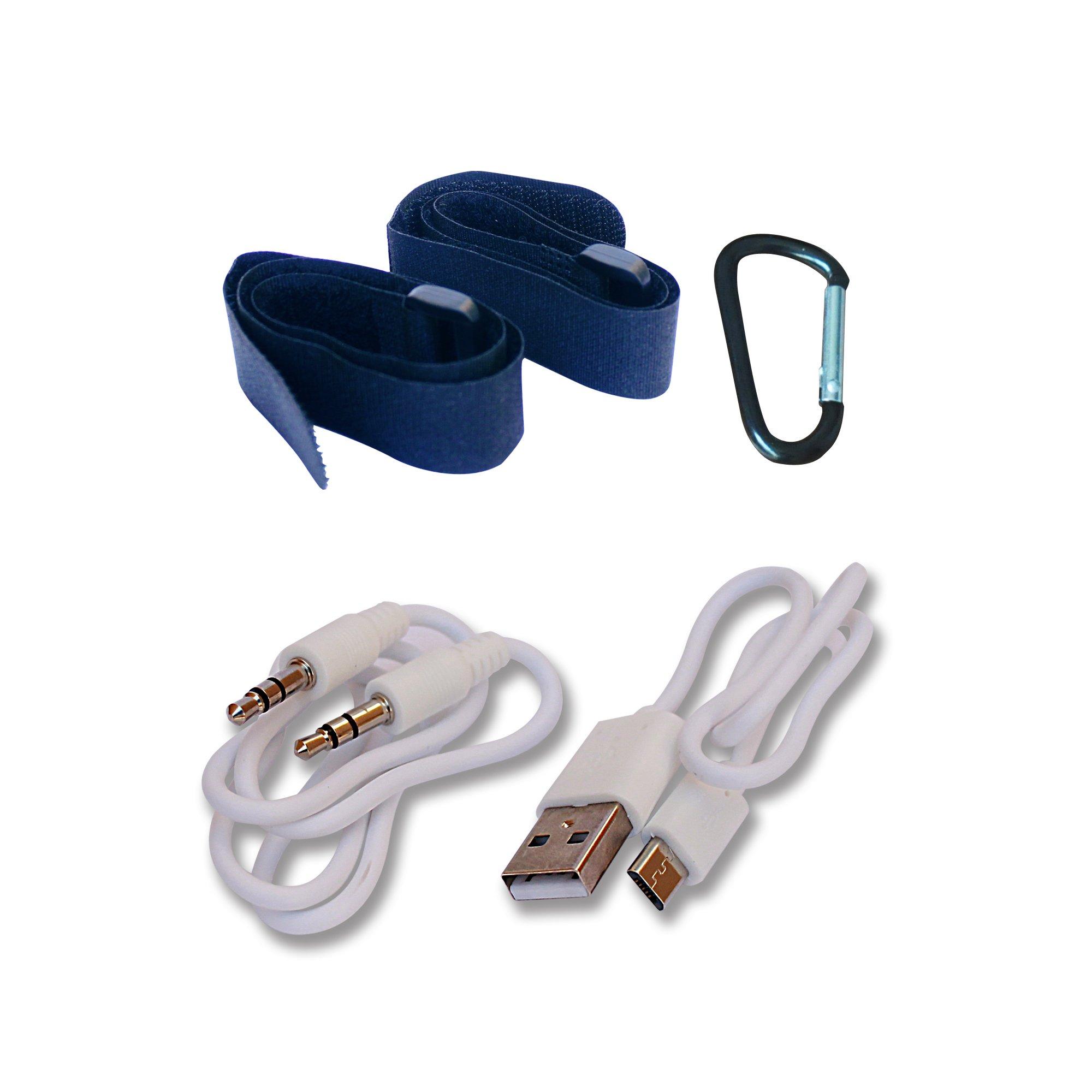 Solar Bluetooth Speaker Nuboom 55+ Hours Playtime 10W Stereo Strong Bass 4400mAh Power Bank IPX5 Splashproof 5V/220mA Solar Panel Bluetooth 4.0 Outdoor Portable Boomer (Skylight Blue) by NUNET