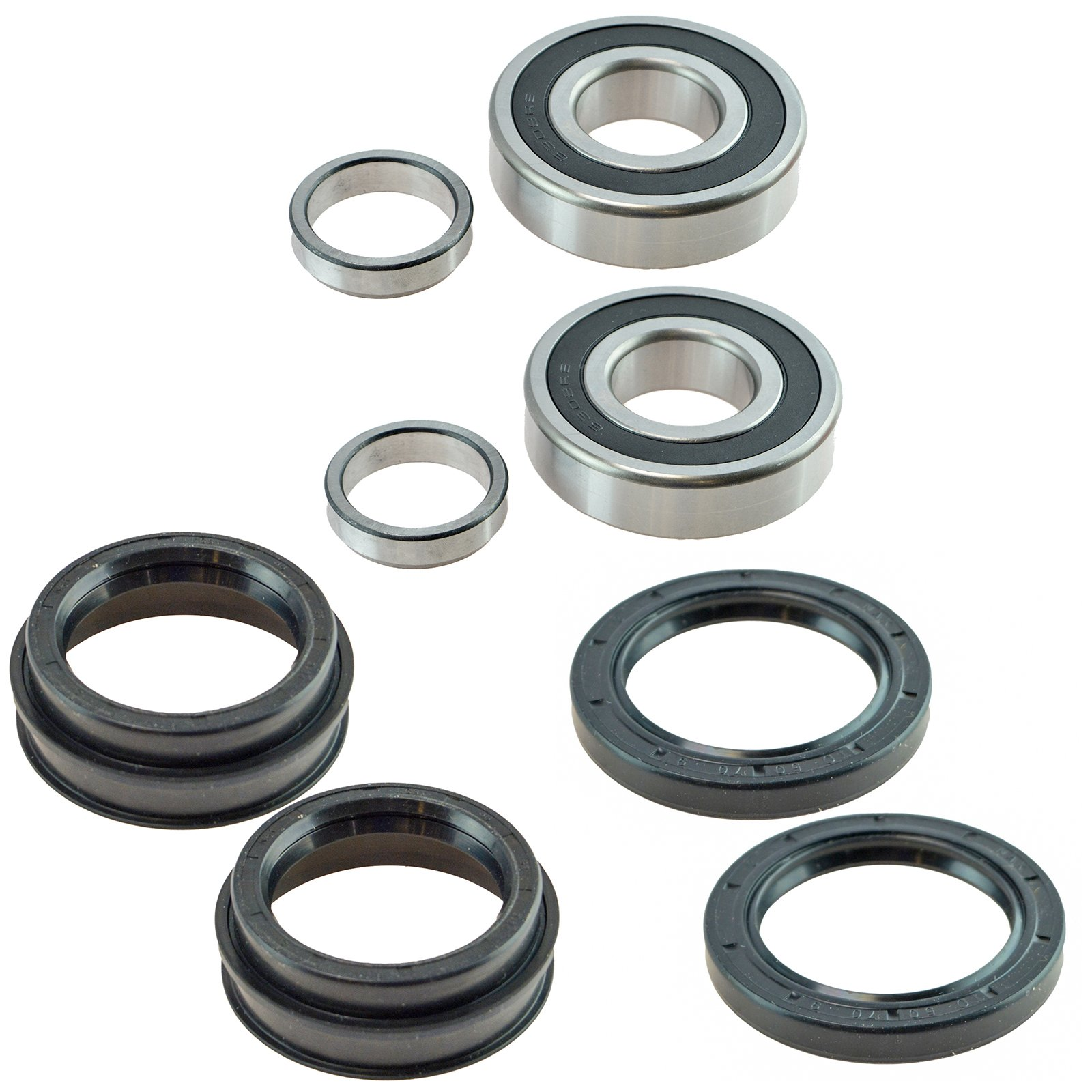 Rear Wheel Bearing w/Seal Kit LH & RH Sides for Toyota Tacoma T100 4Runner by TRQ