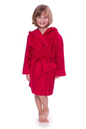 Kid s Hooded Terry Cloth Bathrobe - Cozy Robe by for Kids Texere (Rub-A bc21746c6