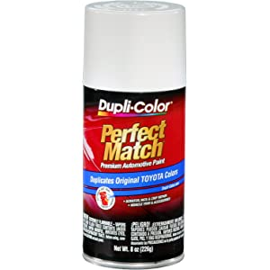 Dupli-Color BTY1556 Super White II Toyota Exact-Match Automotive Paint - 8 oz