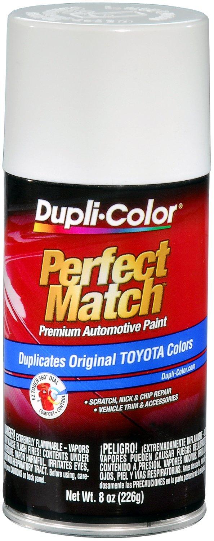 Amazon.com: Dupli-Color BTY1556 Super White II Toyota Exact-Match ...