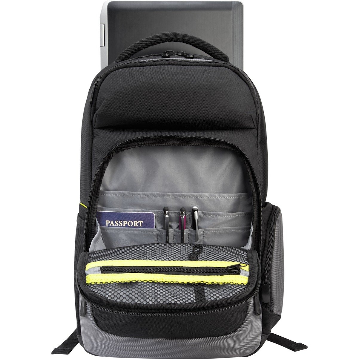 Black TCG465 Targus CityGear II Checkpoint-Friendly for 15.6-Inch Briefcase with DOME Shock Dispersion