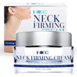 HSBCC Neck Firming Cream with Peptides,Neck Cream,Neck Moisturizer Cream,Anti Wrinkle Anti Aging Neck Lifting Cream for…