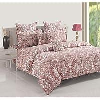 Swayam Single Size, Cotton,Graphic Pattern, Multi Color - Bedding Sets