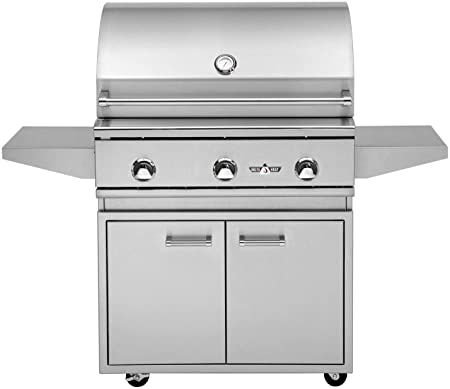 DHBQ26G-D-N-DHSZ-KIT-B Natural Gas Delta Heat Built-in Gas Grill with Infrared Sear Zone 26-Inches