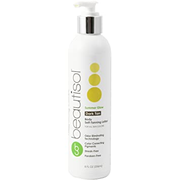 42a316a2a4d6 Amazon.com   Summer Glow Dark Self Tanner - Natural Sunless Tanning Lotion
