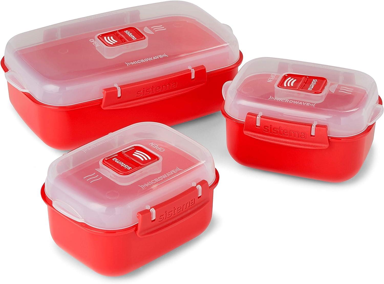 Sistema Microwave Heat & Eat, 3 Pack