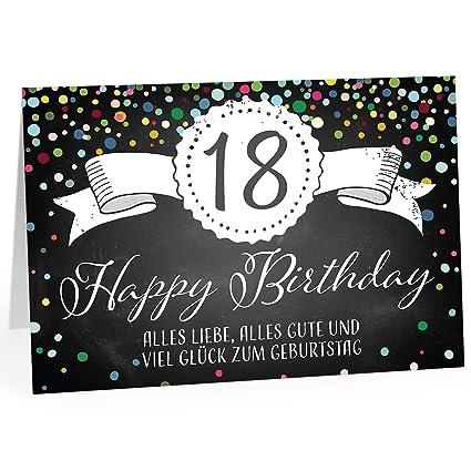 Umschlag NEU Glückwunschkarte 75.Geburtstag Din A6 Grußkarte inkl