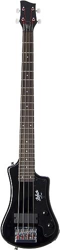 Hofner HCT-SHB-BK-O Shorty Electric Travel Bass Guitar