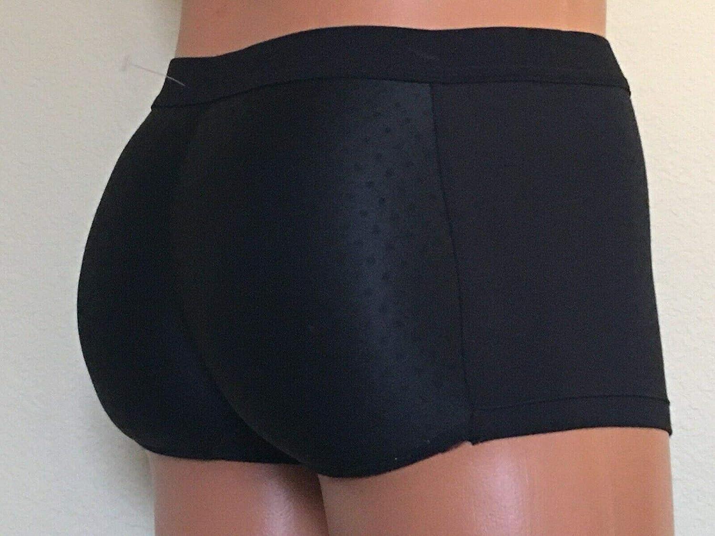 Fullness Mens Padded Butt Enhancer Booty Booster Molded Boyshort Underwear Boxer S 2XL