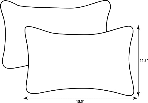 Pillow Perfect Outdoor/Indoor Cinnabar Lumbar Pillow