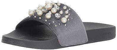 0b6533bba5d Bebe Womens Fenix Open Toe Casual Slide Sandals  Amazon.co.uk  Shoes ...