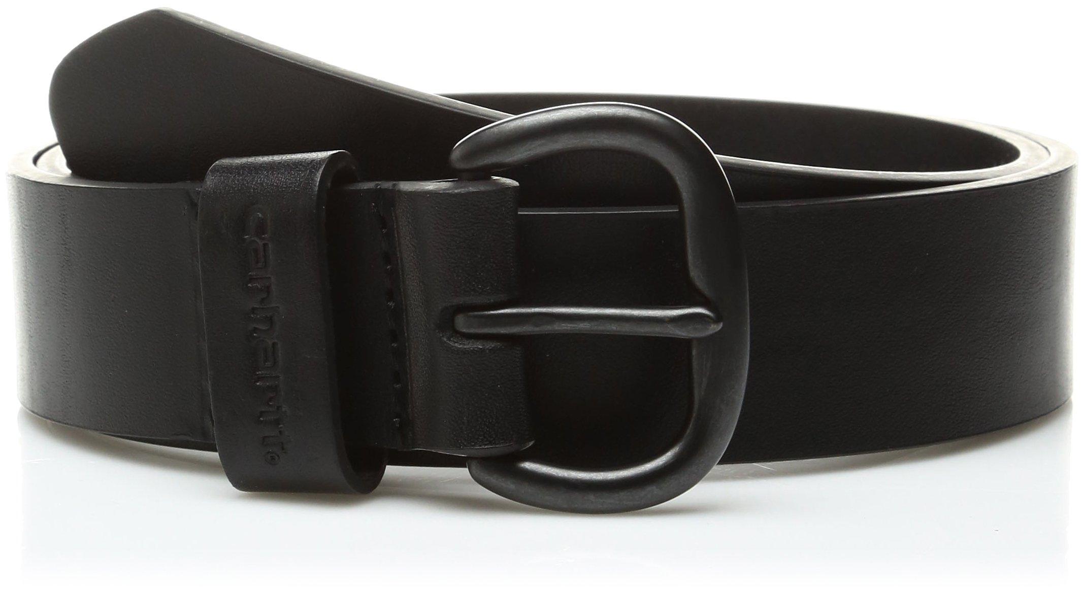 Carhartt Women's Leather Jean Belt,Black,Small