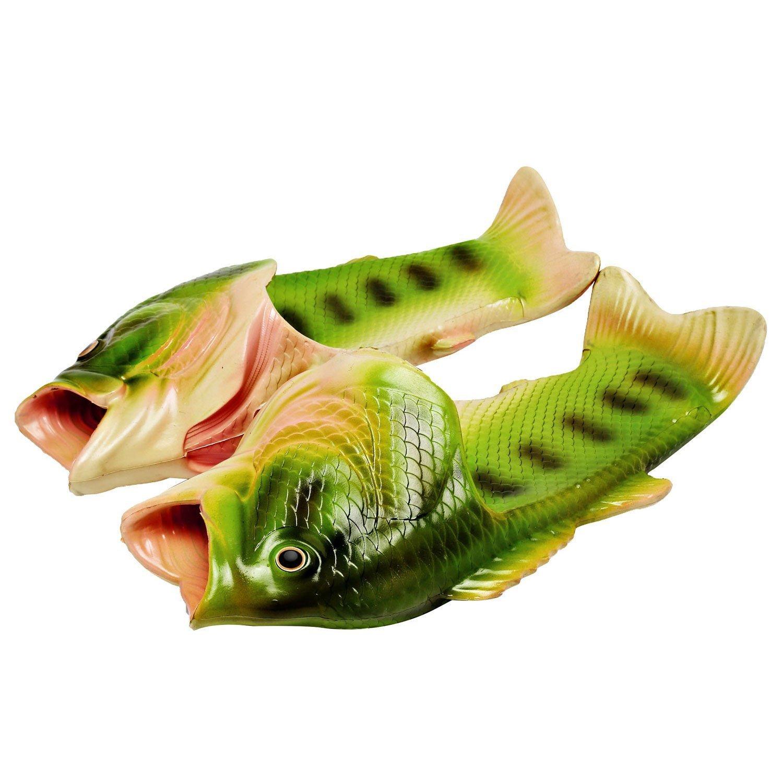 Kids Fish Animal Slippers Summer Non Slip Beach Sandals Creative Funny Shower Slippers for Boys Girls, 3 Colors