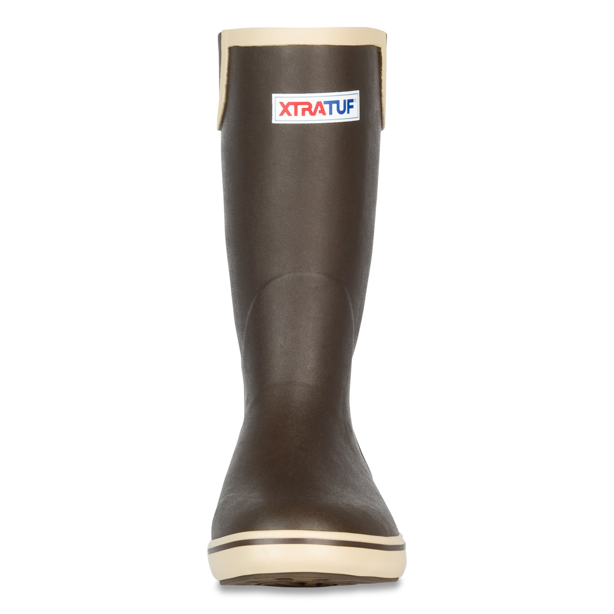 XTRATUF Performance Series 12'' Men's Full Rubber Deck Boots, Chocolate & Tan (22702) by Xtratuf (Image #2)