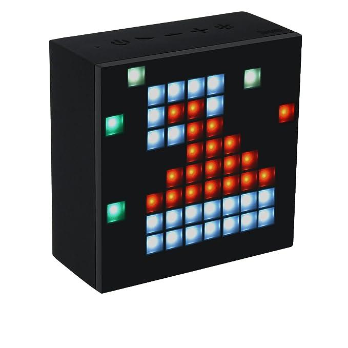 Divoom Aurabox Bluetooth 4 0 Smart LED Speaker with APP Control for Pixel  Art Creation 4 3X2 2 X4 3 Inch