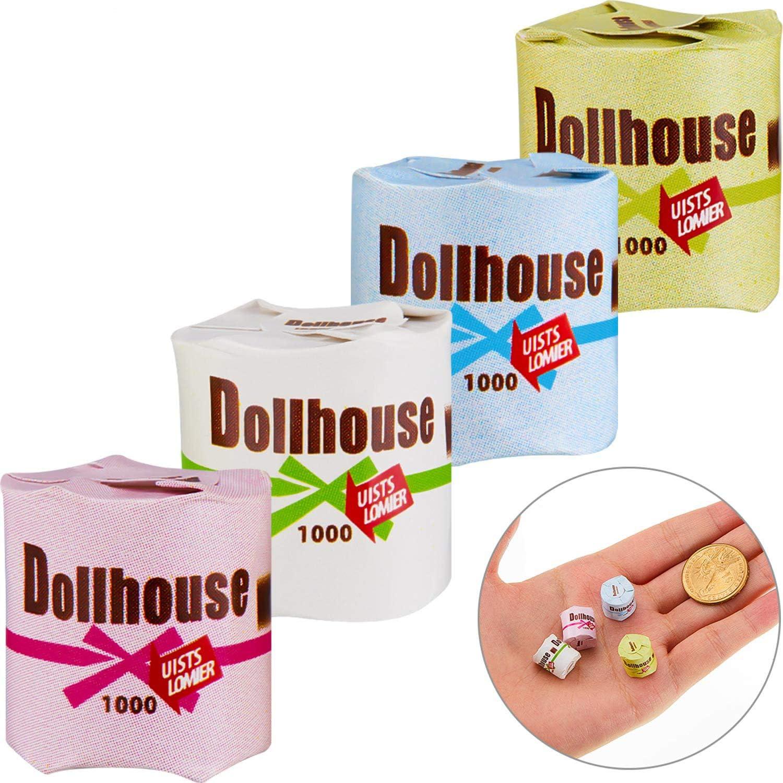 Dollhouse Miniature 4 books 1:12 Scale For Dollhouse Scene Model Accessories